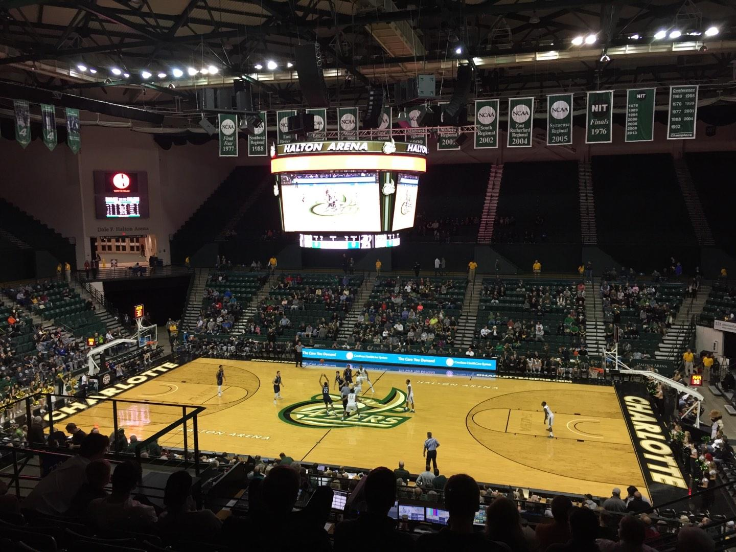Dale F. Halton Arena Section 220 Row K Seat 5