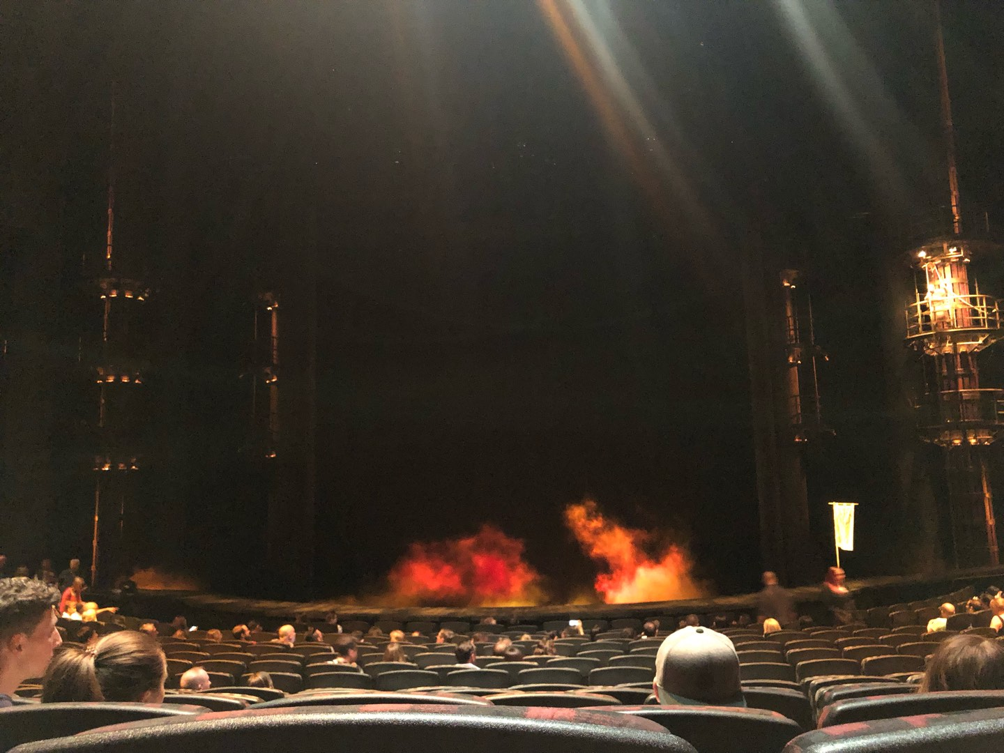 KÀ Theatre - MGM Grand Section 102 Row P Seat 18