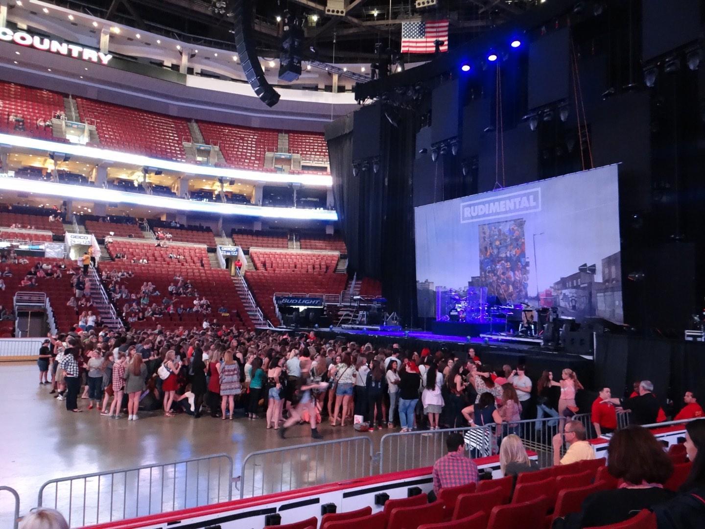 Wells Fargo Center Section 114 Concert Seating