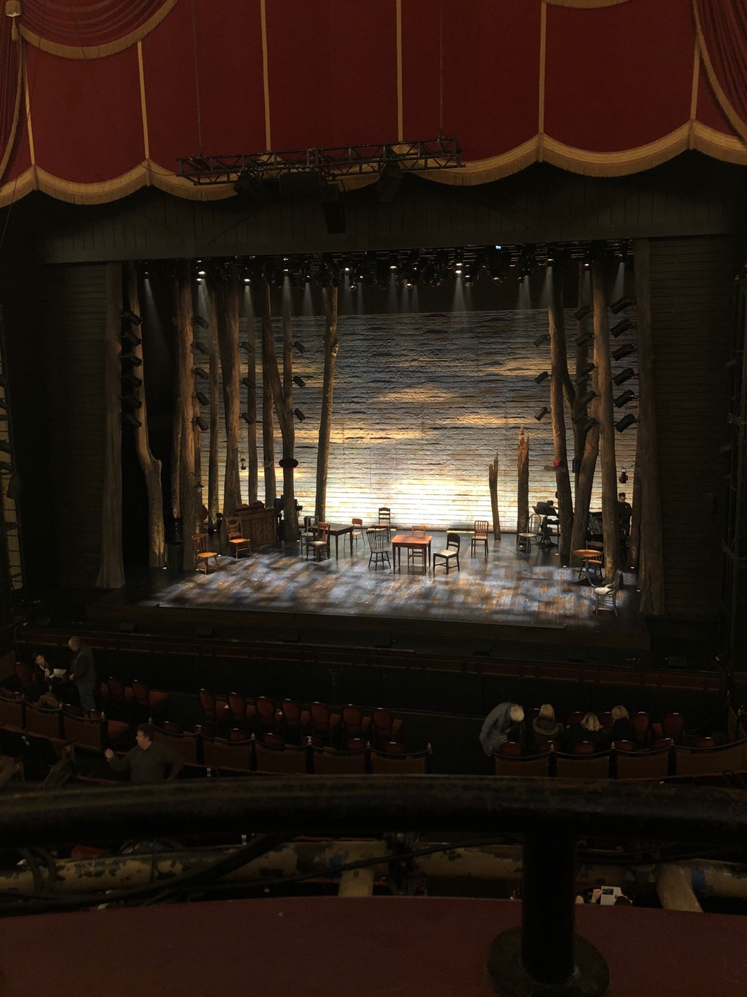 Citizens Bank Opera House Section Dress Circle LC Row AA Seat 2,4