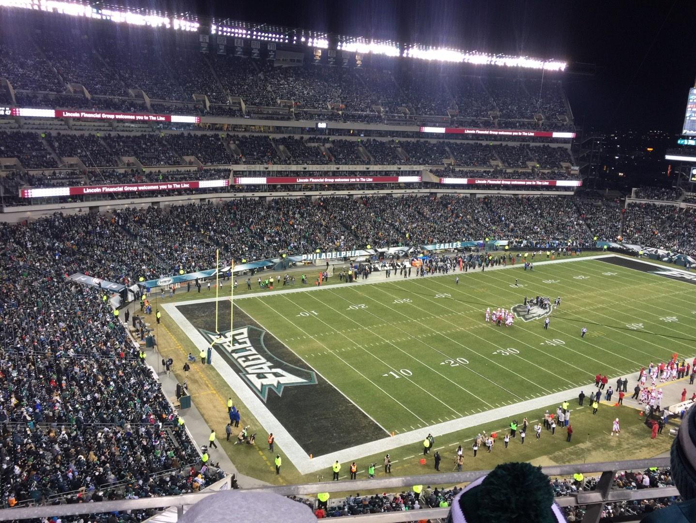 Lincoln Financial Field Section 219 Row 2 Philadelphia