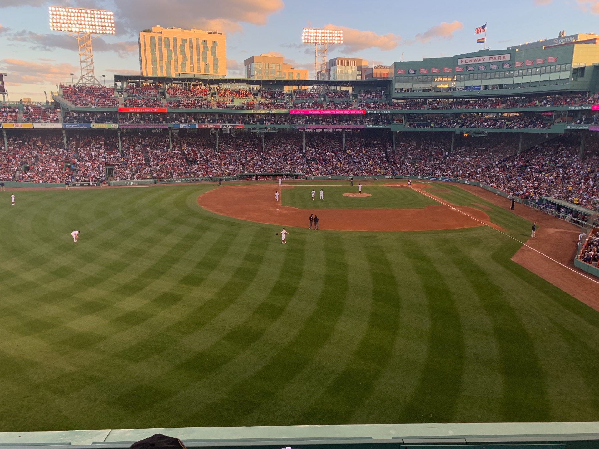 Fenway Park Section Green Monster 4 Row 2 Seat 6