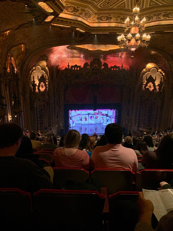 Ohio Theatre (Columbus) Section Balcony D Row X Seat 7
