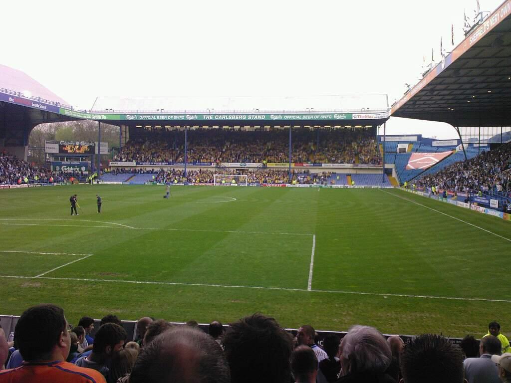 Hillsborough Stadium Section X1 Row 16 Seat 175