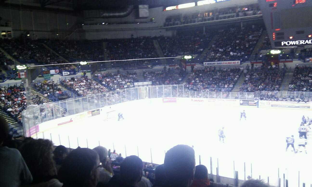 FlyDSA Arena Section 217 Row E Seat 20