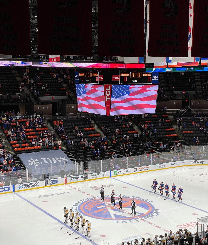 Nassau Veterans Memorial Coliseum Section 226 Row 9 Seat 8