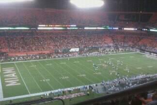 Hard Rock Stadium Section Old 447 Row 6