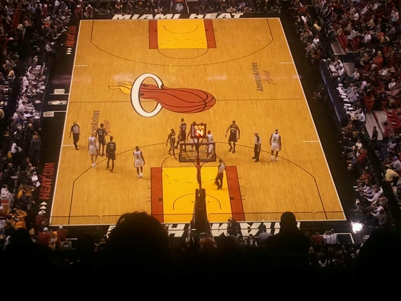 American Airlines Arena Section 405