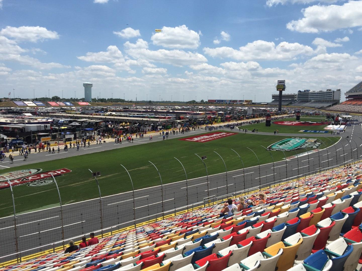 Charlotte Motor Speedway Section Chry Sec E Row 30 Seat