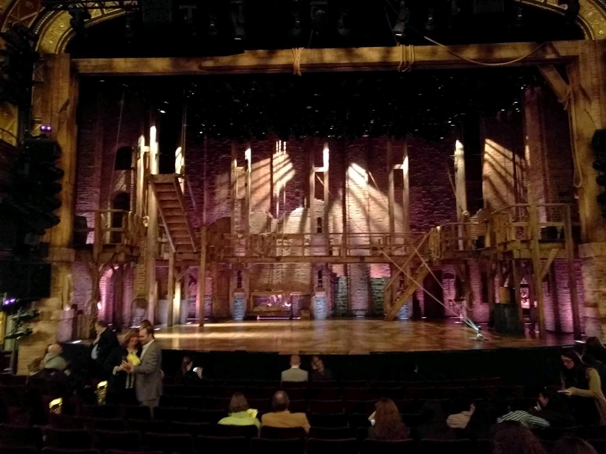 Richard Rodgers Theatre Section Orchestra C Row L Seat 107
