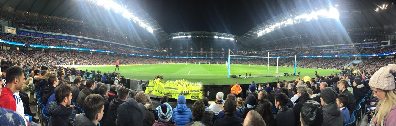 Etihad Stadium (Manchester) Section 137 Row D Seat 1040