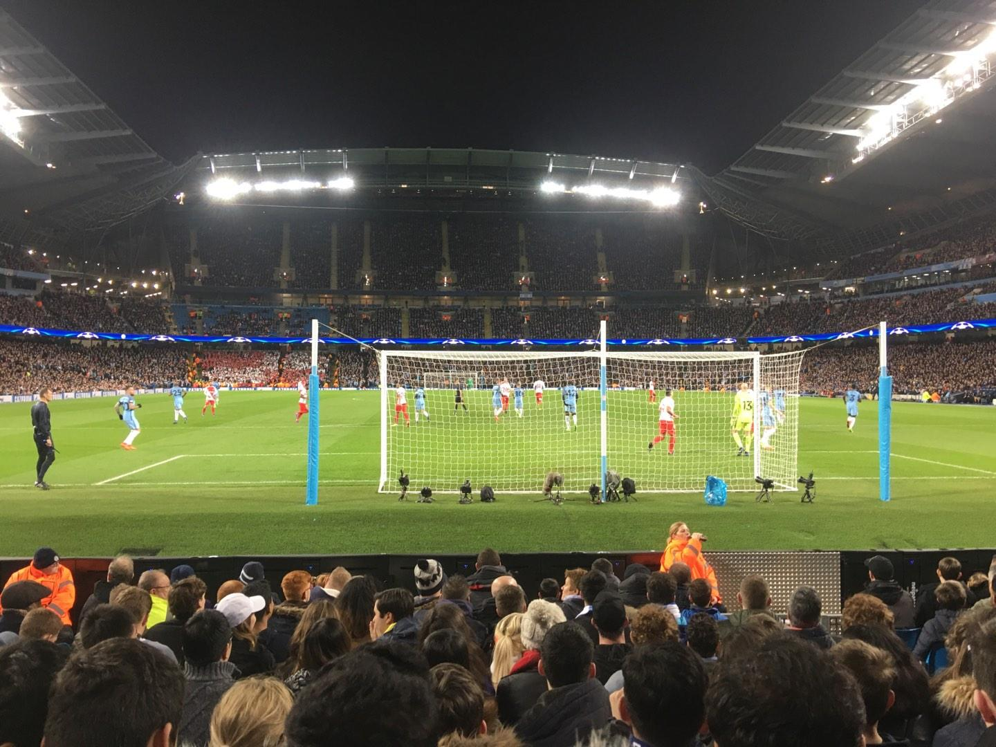Etihad Stadium (Manchester) Section 137 Row G Seat 1029