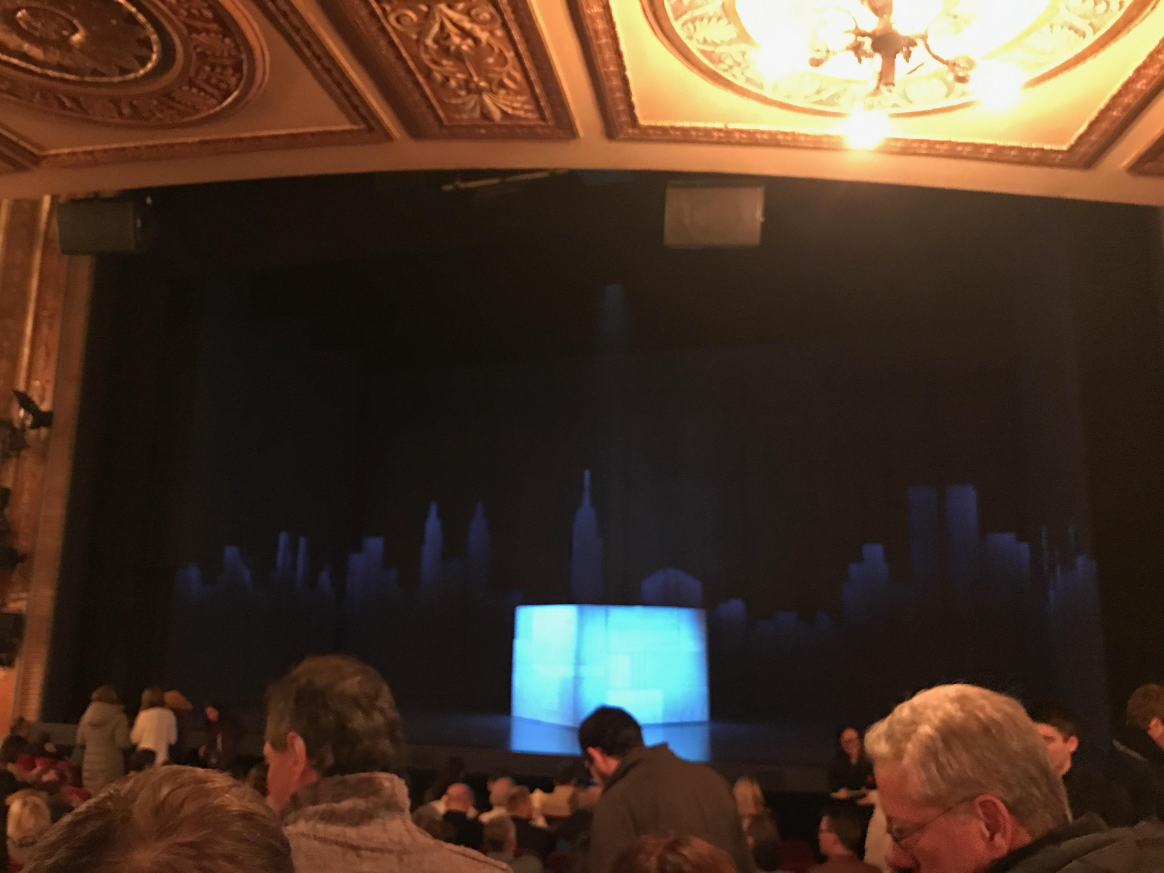 Walter Kerr Theatre Section Orchestra Row N Seat 101