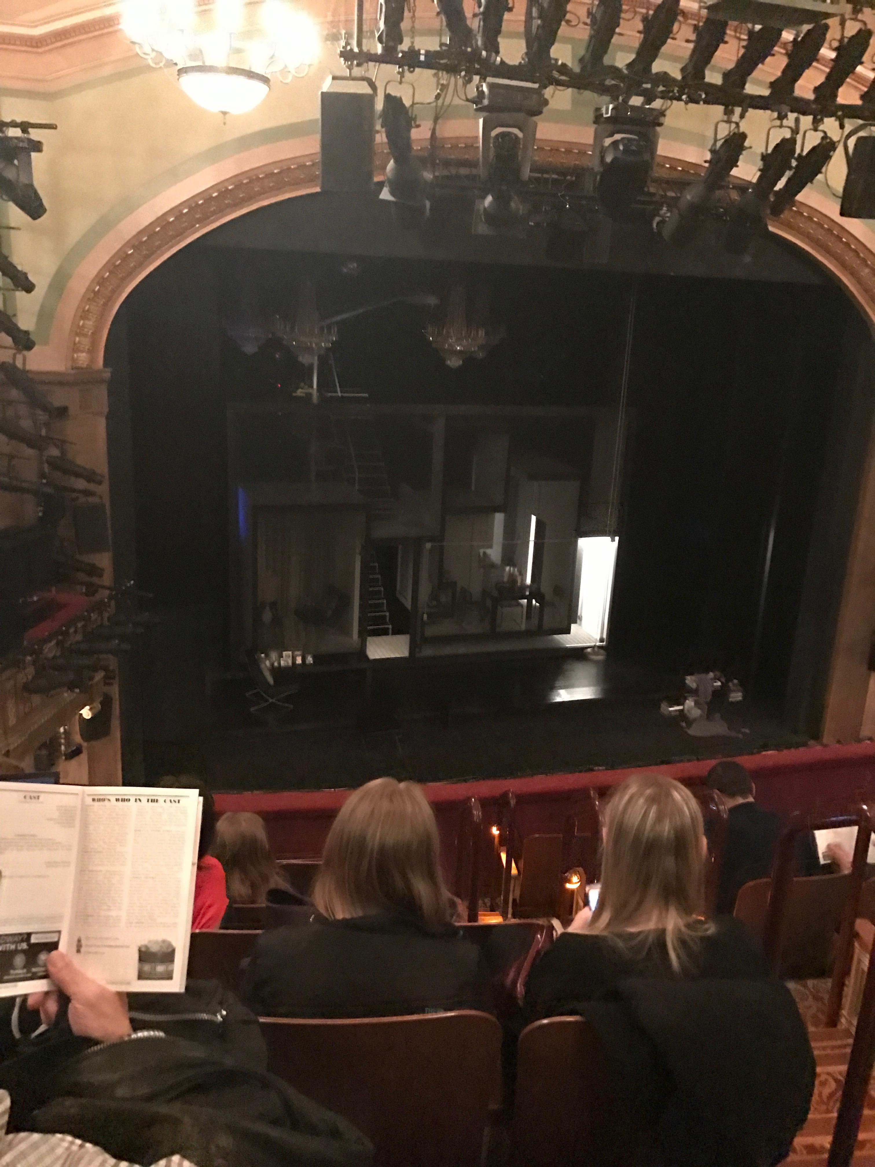 Booth Theatre Section Mezzanine L Row G Seat 5