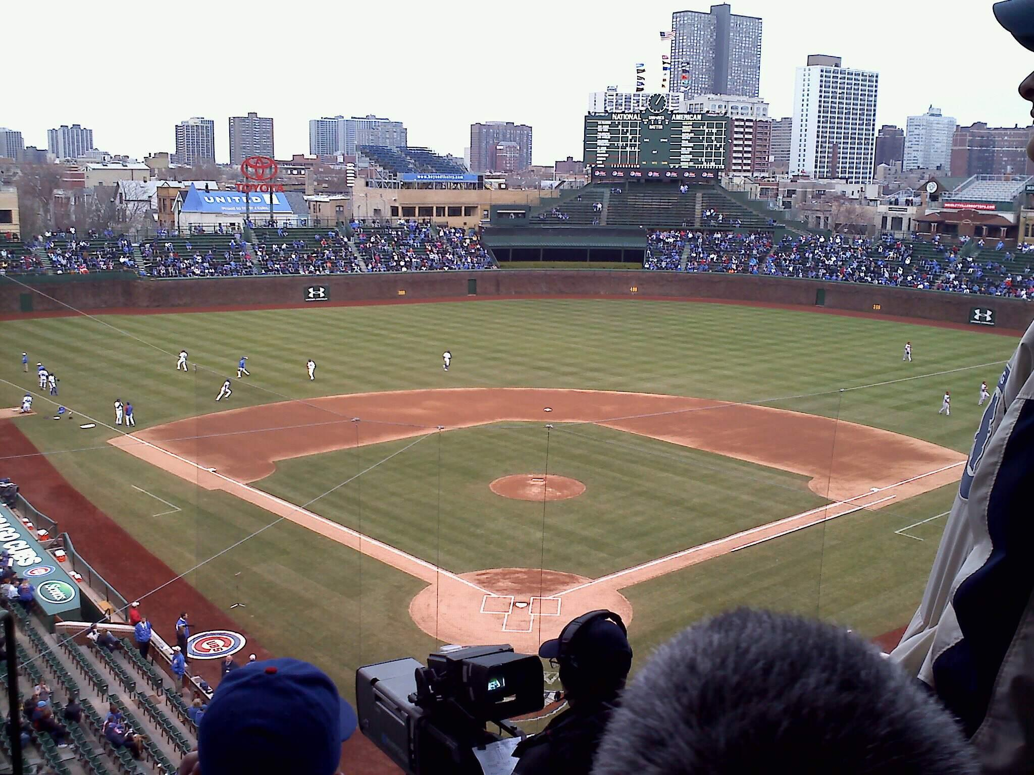 Wrigley Field Section 421 Row 5 Seat 3
