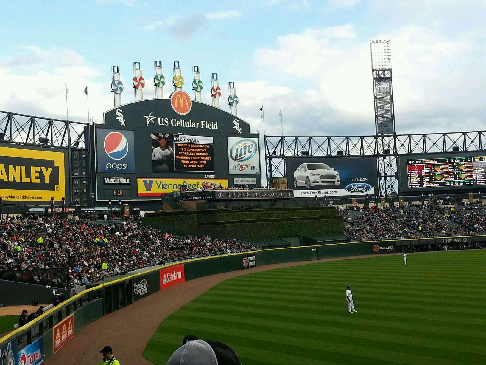 Guaranteed Rate Field Section 151 Row 25 Seat 5