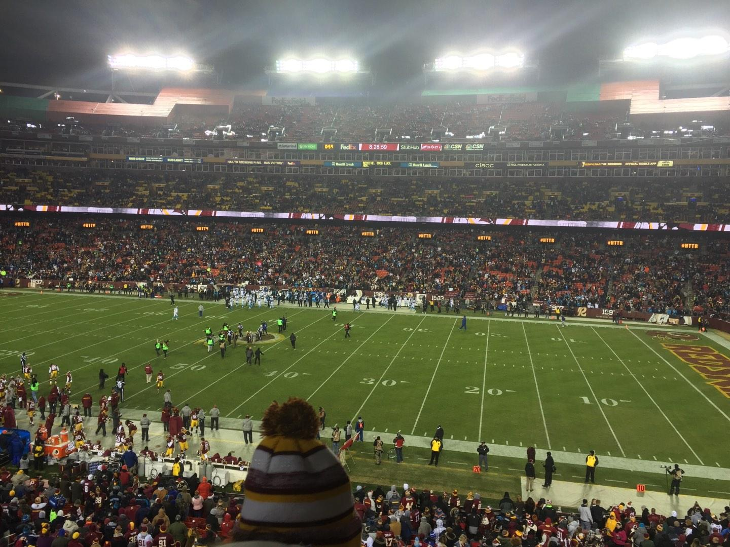 FedEx Field Section 240 Row 2 Seat 18
