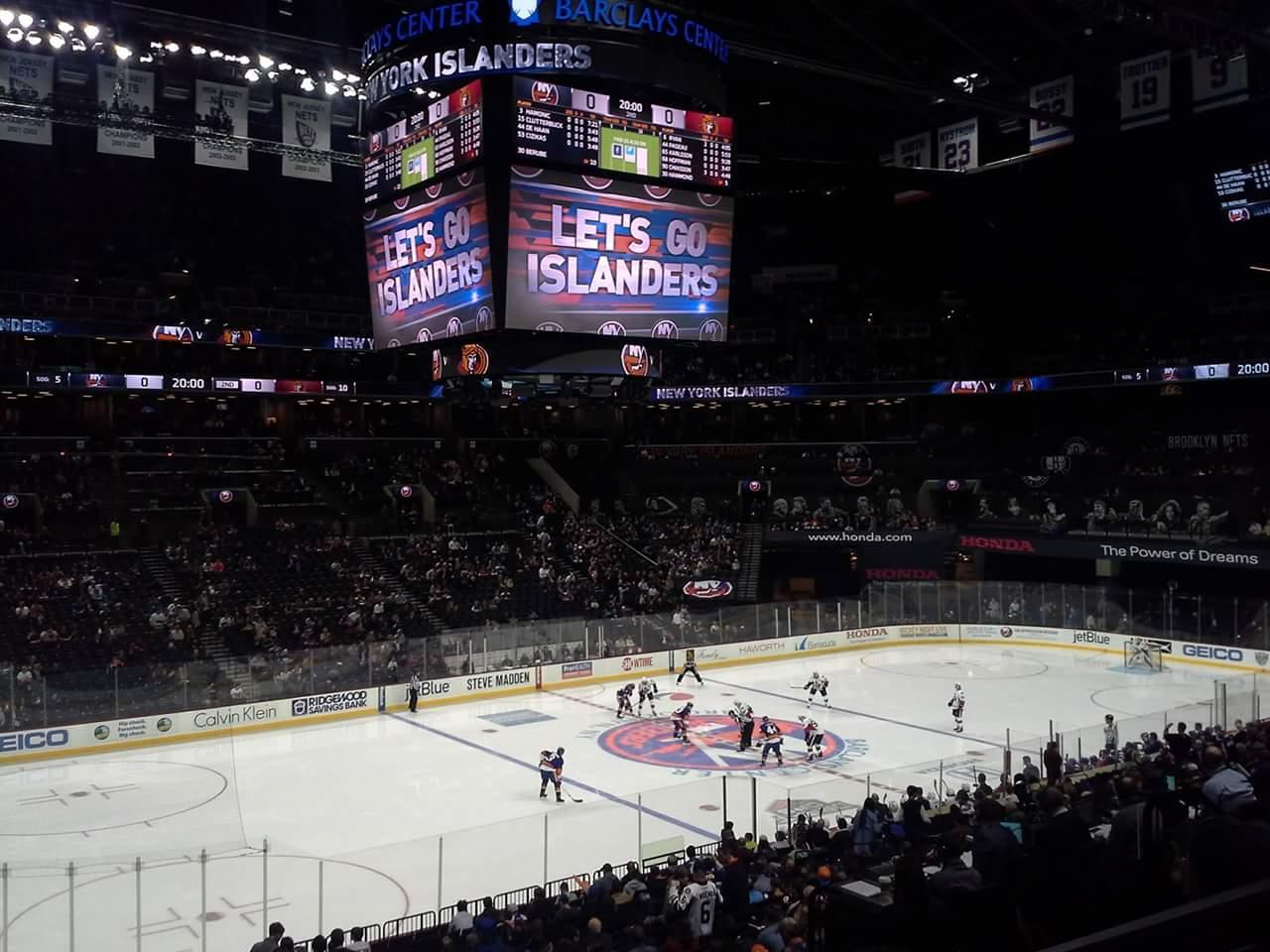 Barclays Center Section 111 Row 7 Seat 1