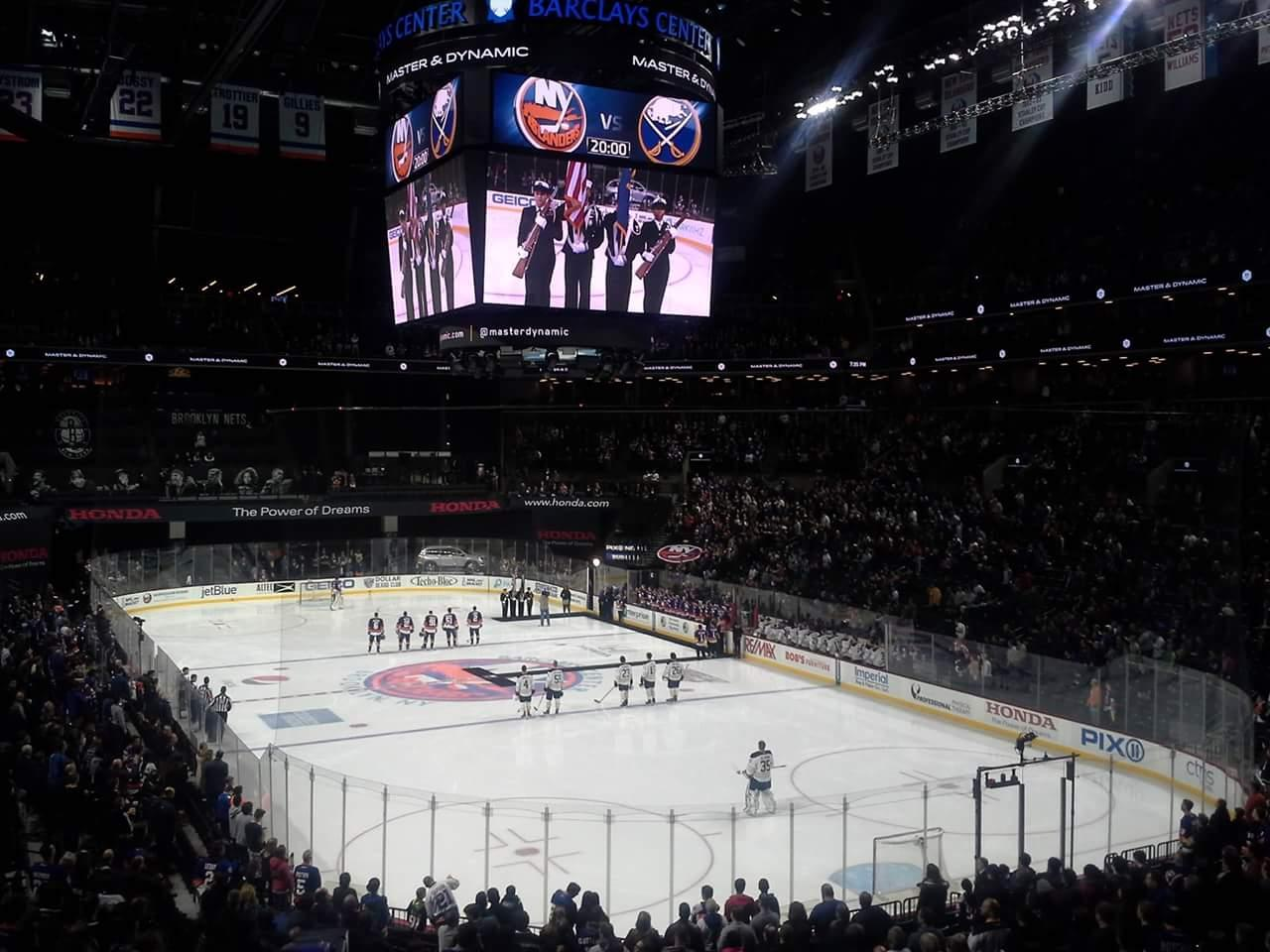 Barclays Center Section 118 Row 5 Seat 1
