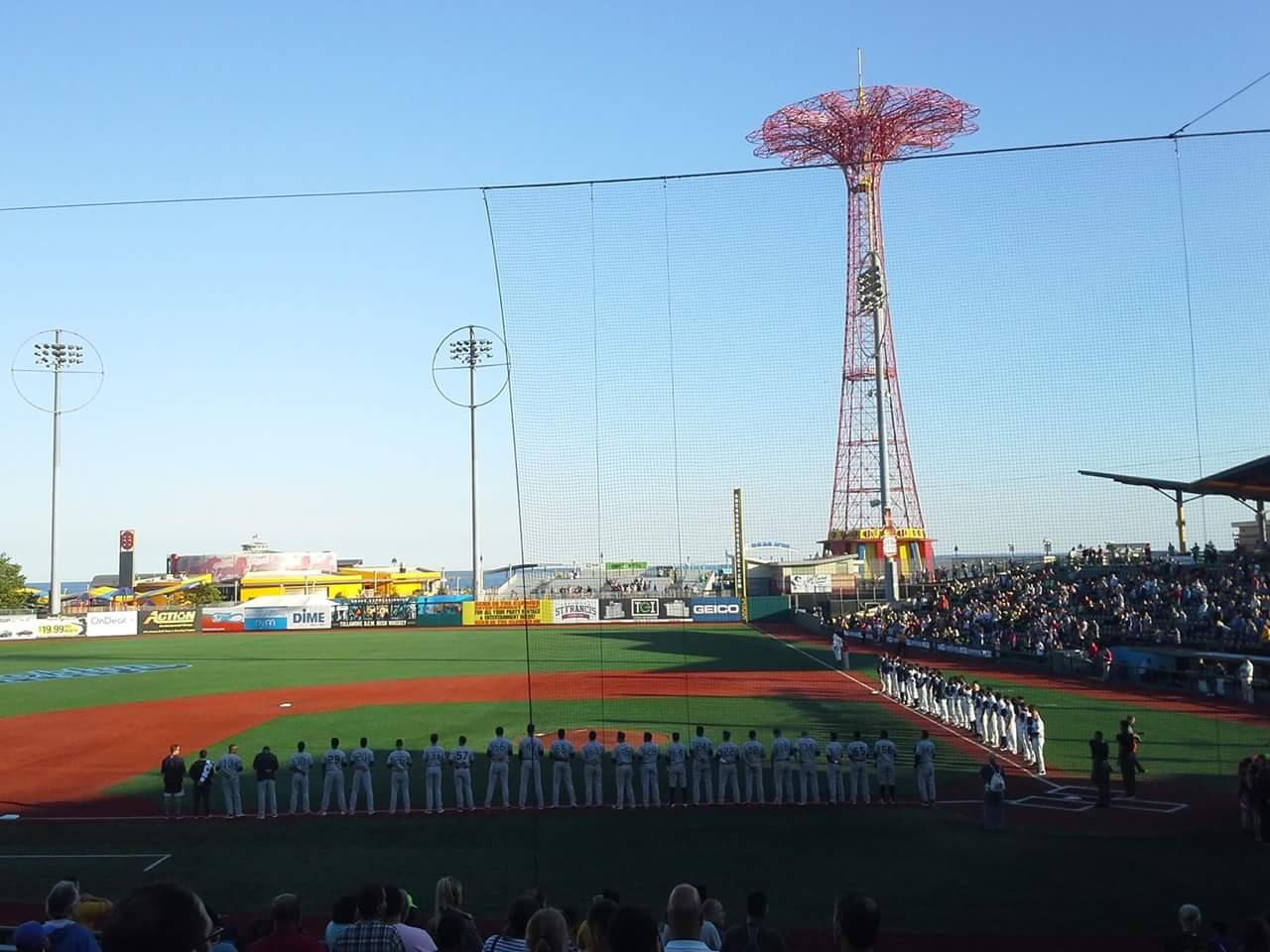 MCU Park Section 7 Row S Seat 1