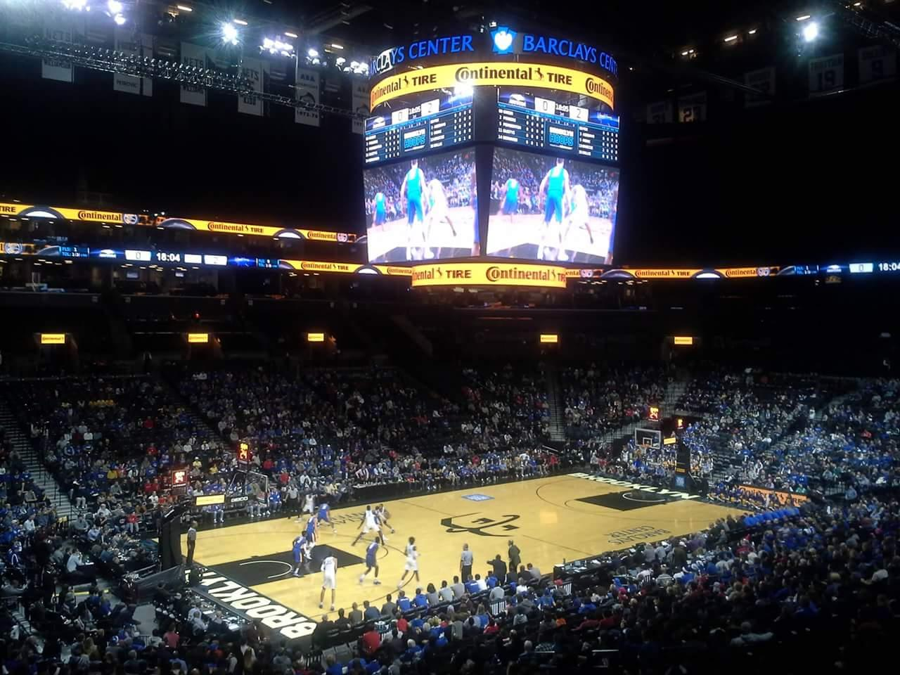 Barclays Center Section 111 Row 7 Seat 18