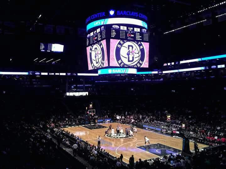Barclays Center Section 120 Row 6 Seat 1
