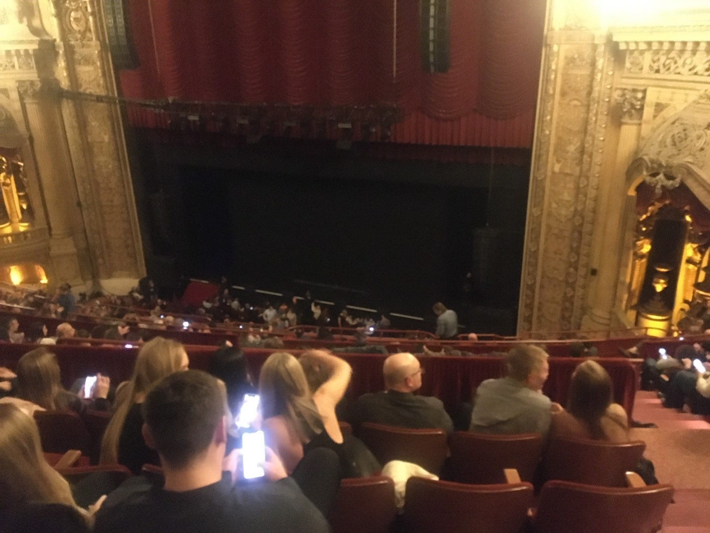 Chicago Theatre Section Balcony2R Row K Seat 220
