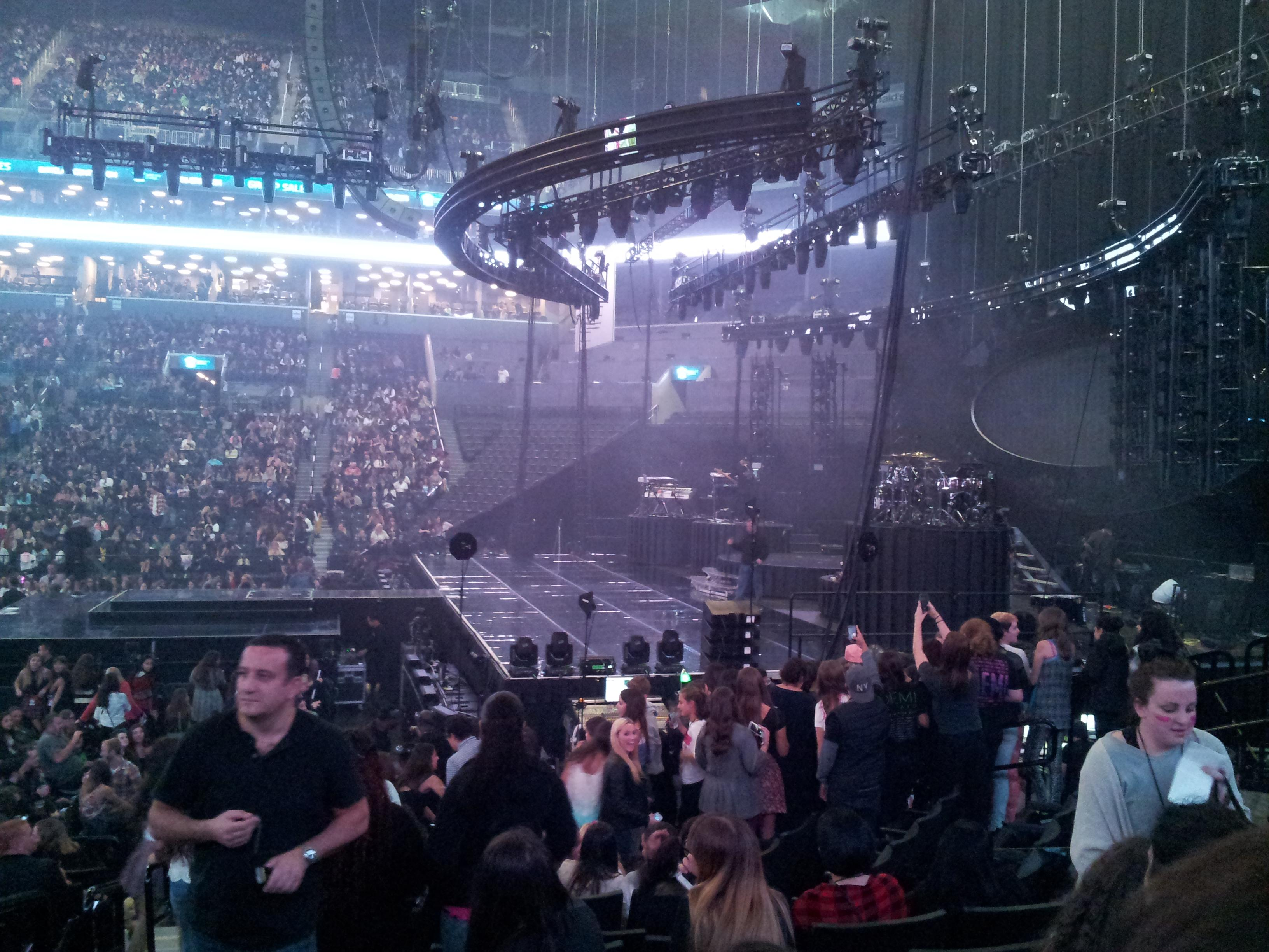 Barclays Center Section 6 Row 12 Seat 7