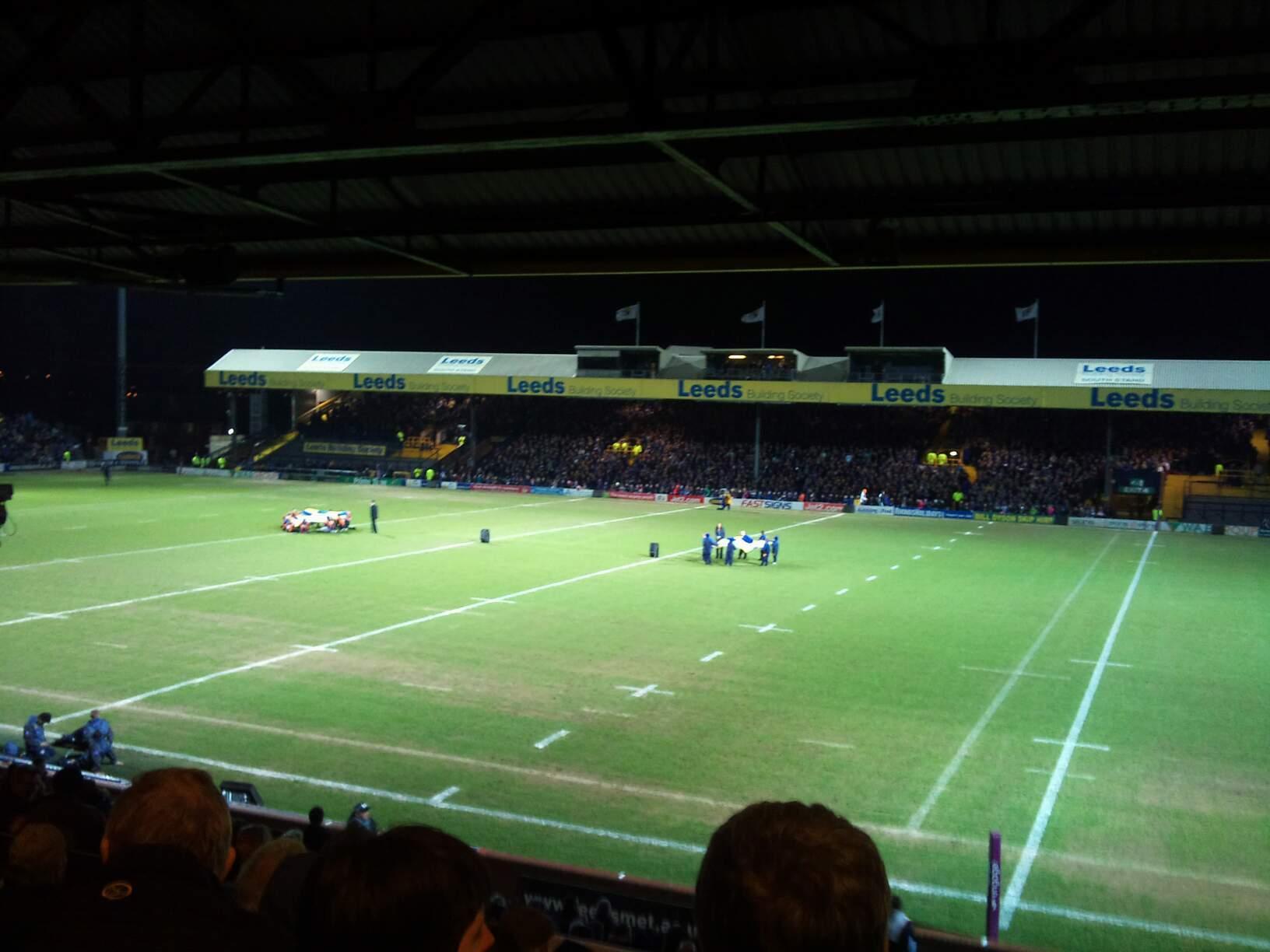 Headingley Stadium Section B Row M Seat 20