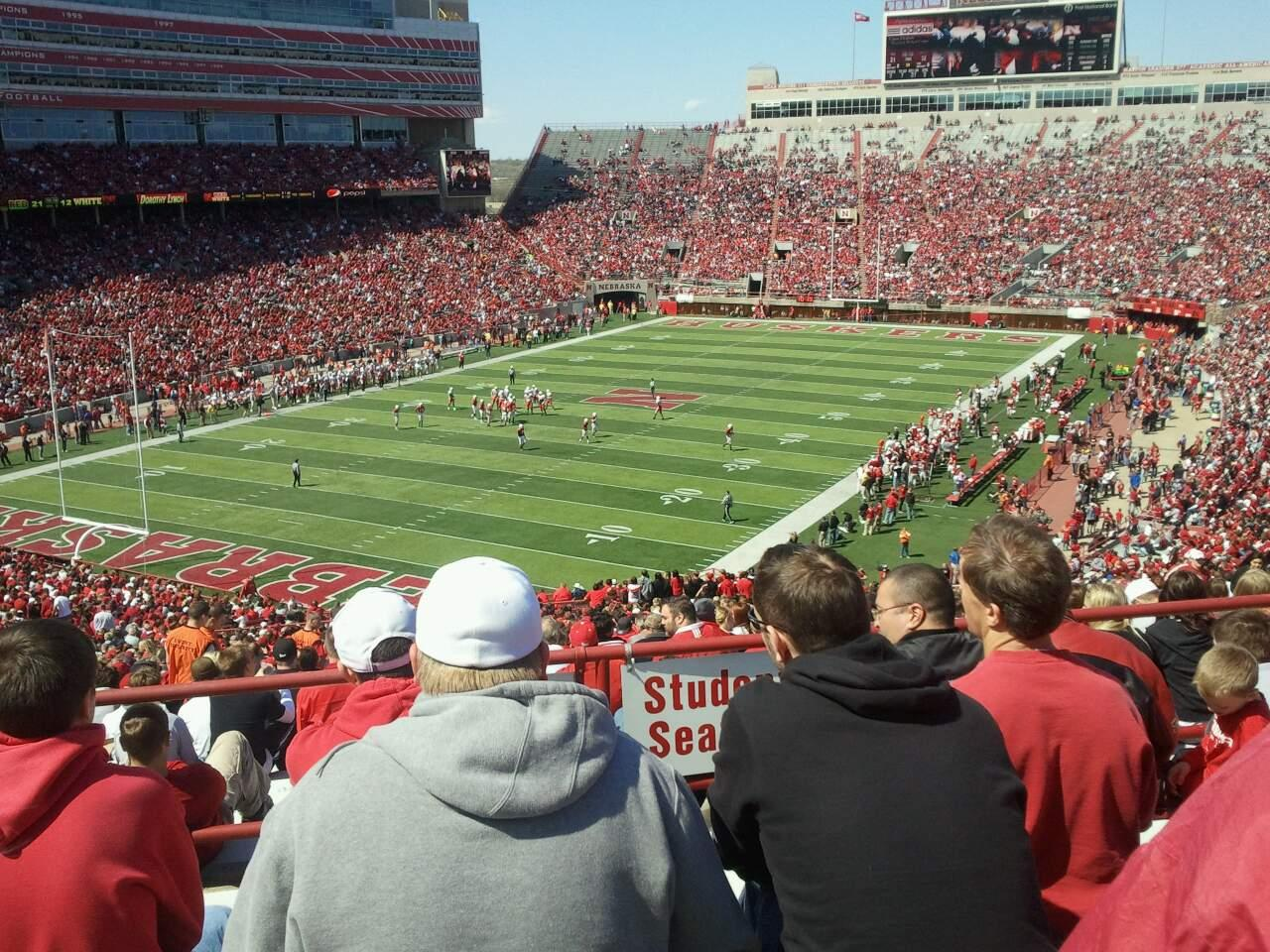 Memorial Stadium (Lincoln) Section 12 Row 73 Seat 12