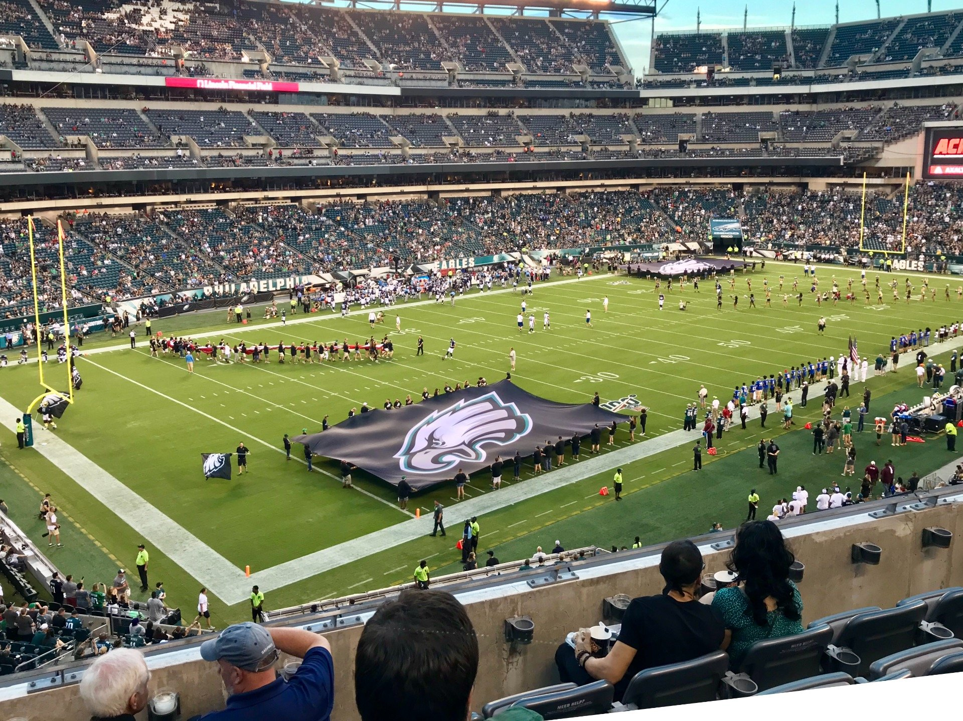 Lincoln Financial Field Section C35 Row 5 Seat 15