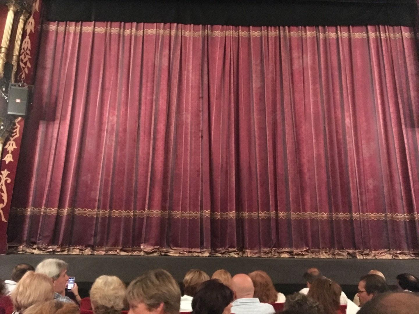 Teatro Liceo Section Main Row 6 Seat 8