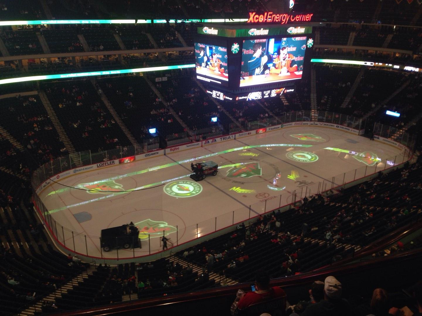 Xcel Energy Center Section 207 Row 6 Seat 22