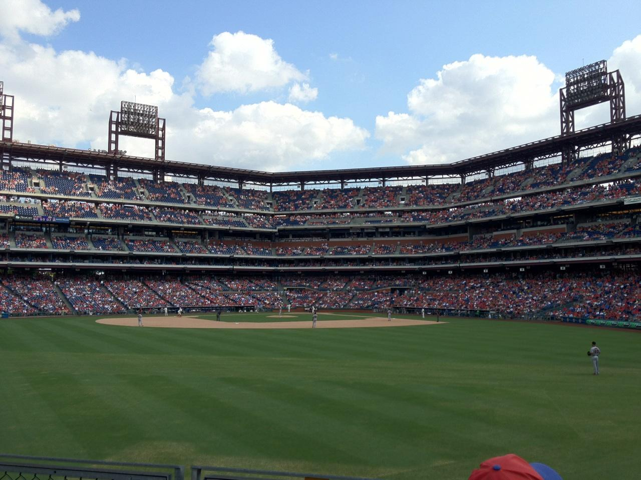Citizens Bank Park Section 147 Row 3 Seat 6