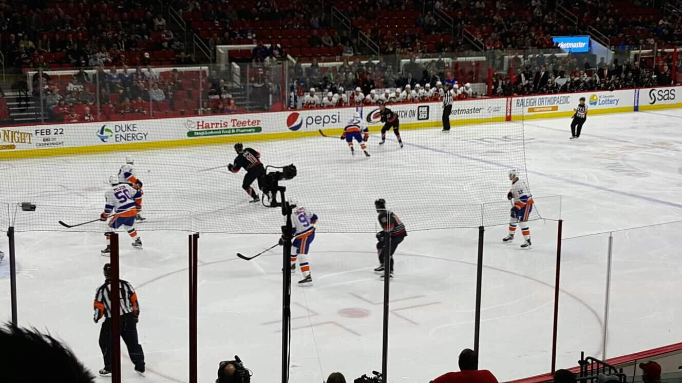 PNC Arena Section 123 Row r Seat 8