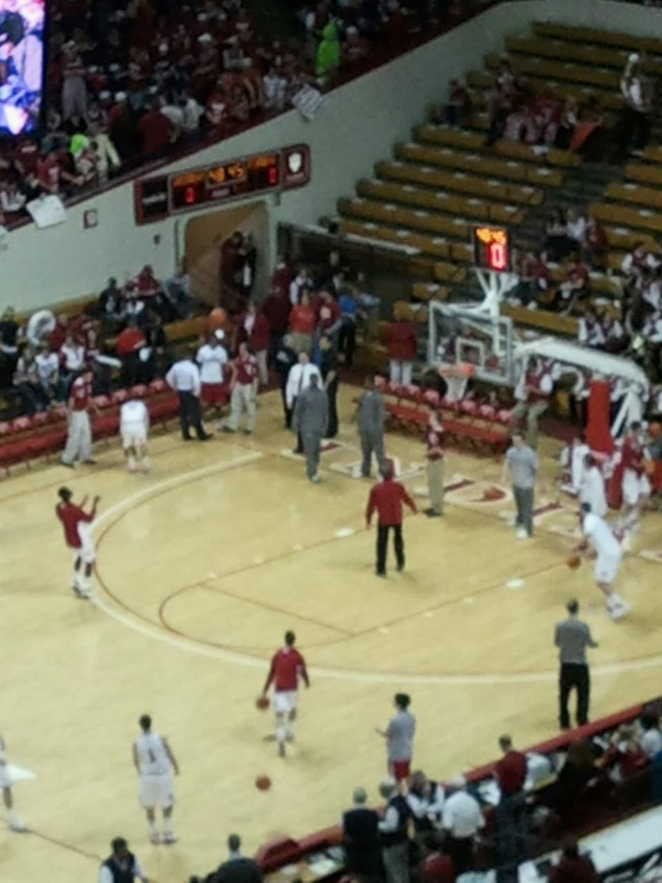 Assembly Hall (Bloomington) Section f Row 41