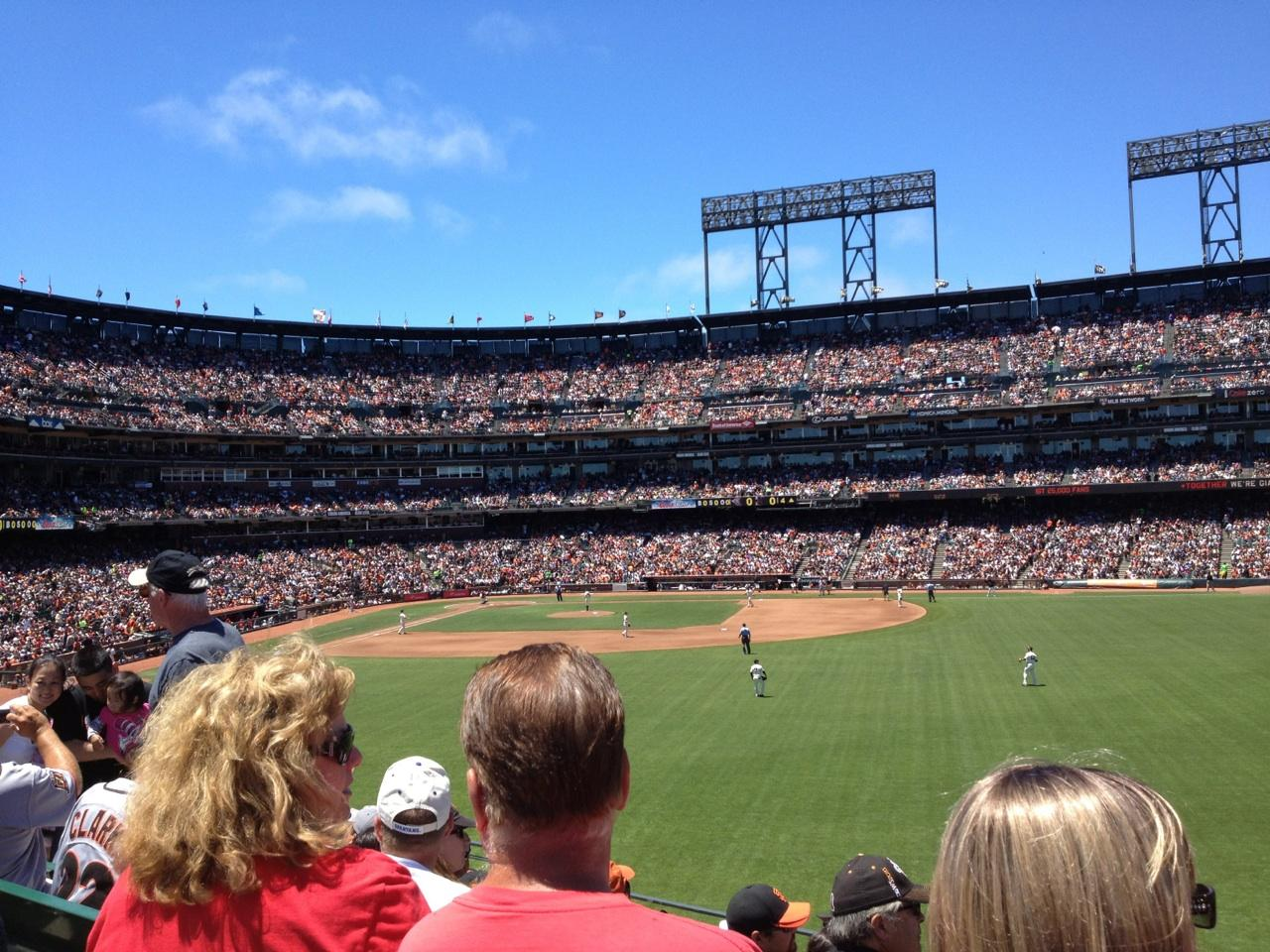 AT&T Park Section 147 - San Francisco Giants ...
