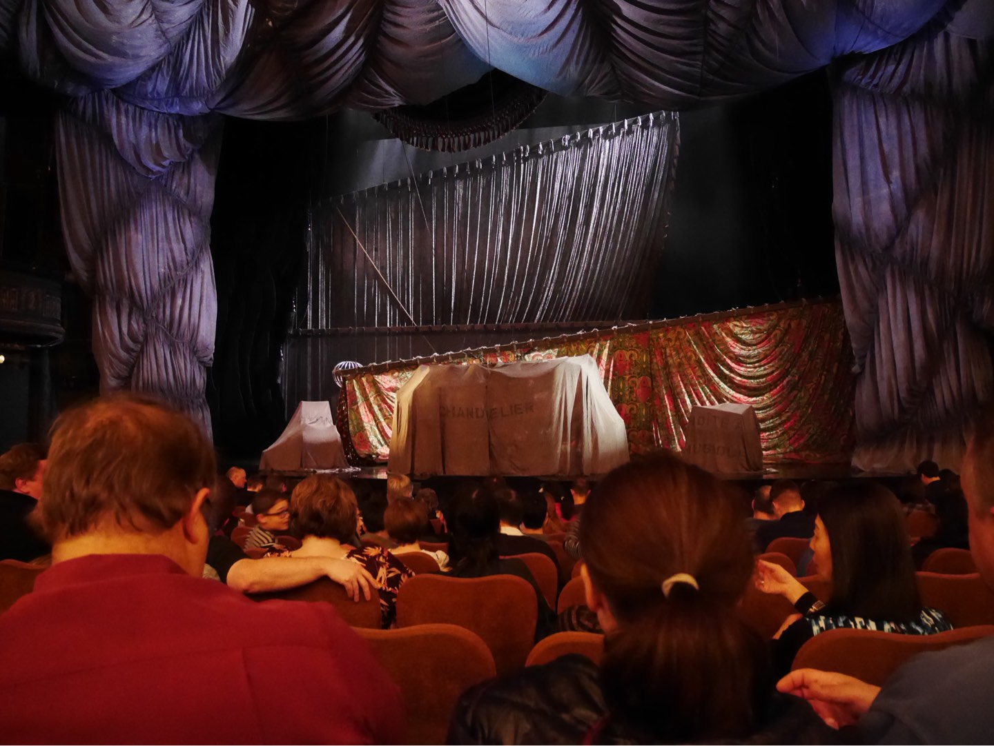 Majestic Theatre Section Orchestra C Row H Seat 111