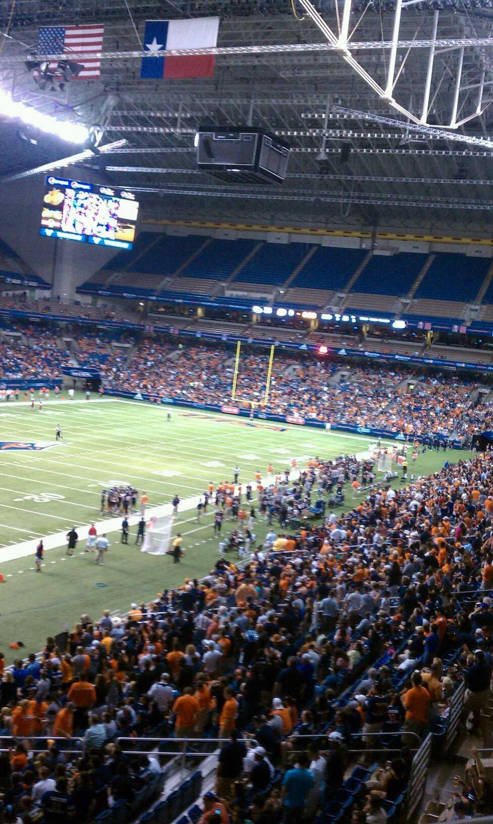 Alamodome Section 218 Utsa Football Rateyourseats Com