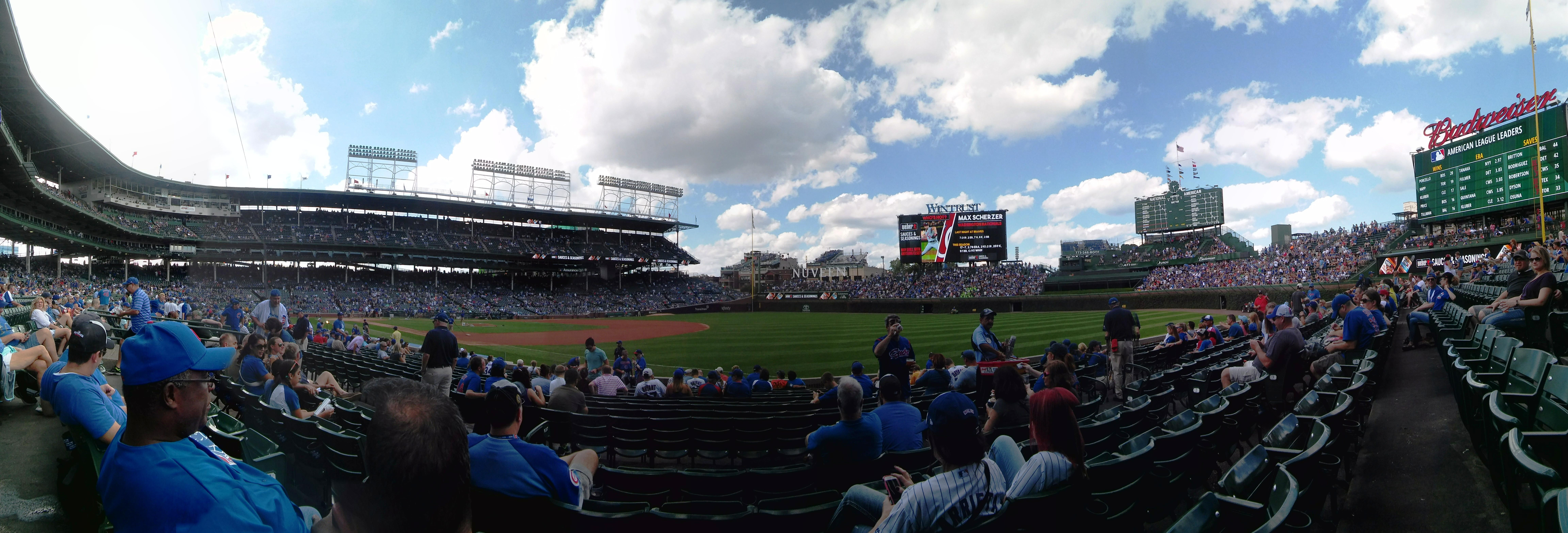 Wrigley Field Section 130 Row 5 Seat 4