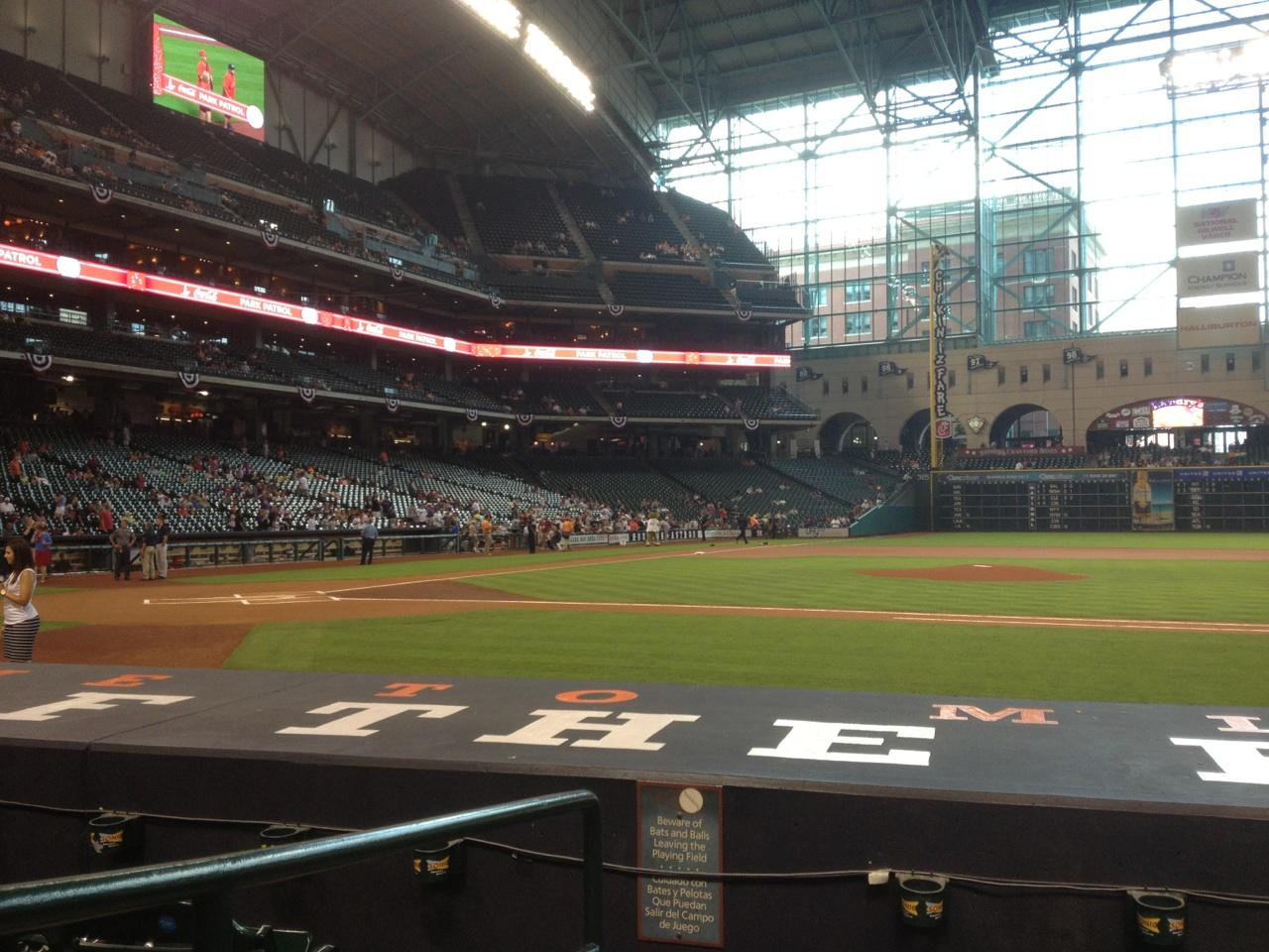 Minute maid park sections 1632 183 1224
