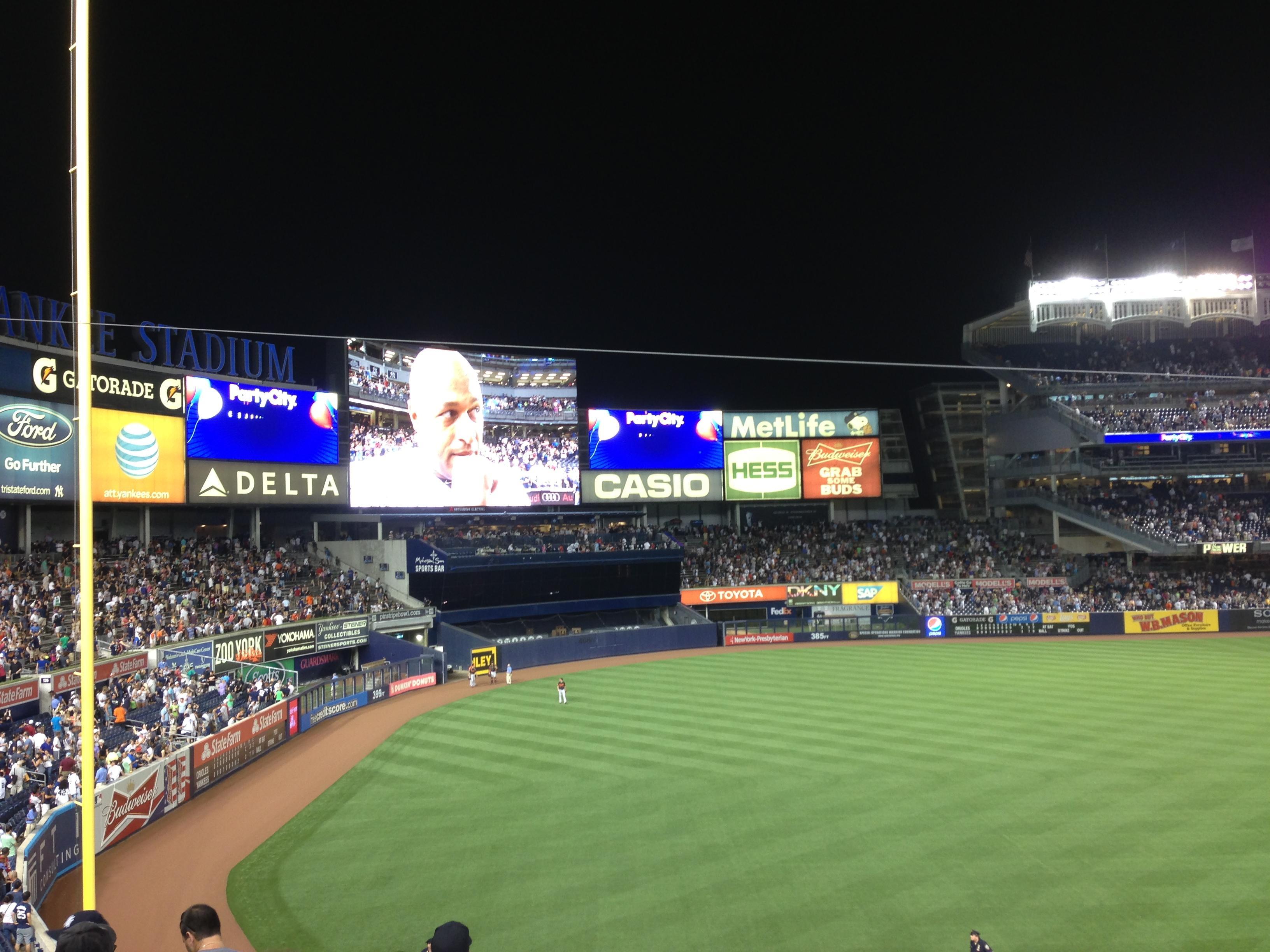 Yankee Stadium Section 229 New York Yankees