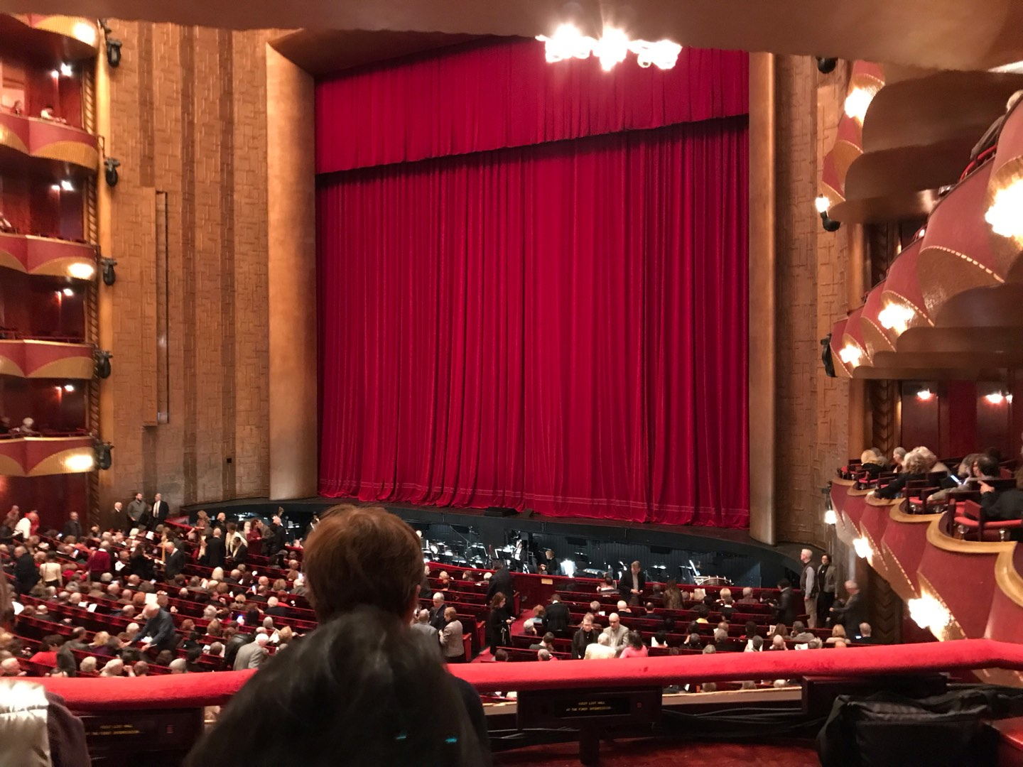 Metropolitan Opera House - Lincoln Center Section Parterre Box Row 16 Seat 7 And 8