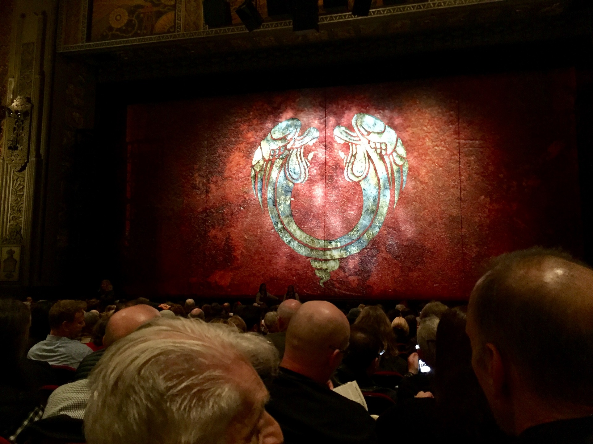 Hollywood Pantages Theatre Section Orchestra C Row Q Seat 101