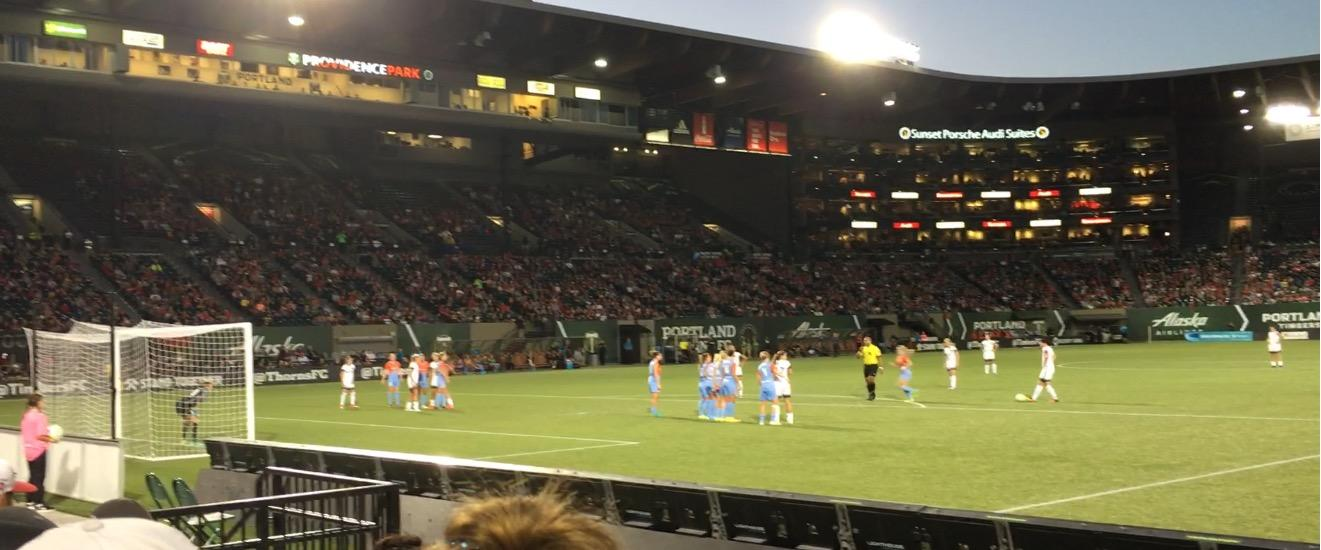 Providence Park Section SD6 Row C Seat 10