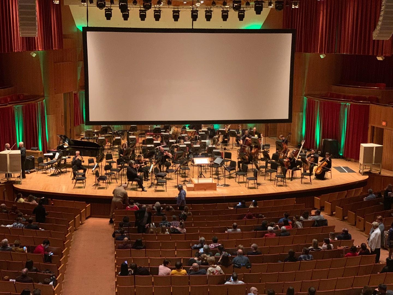 Joseph Meyerhoff Symphony Hall Section Grand Tier Center Left Row A Seat 115