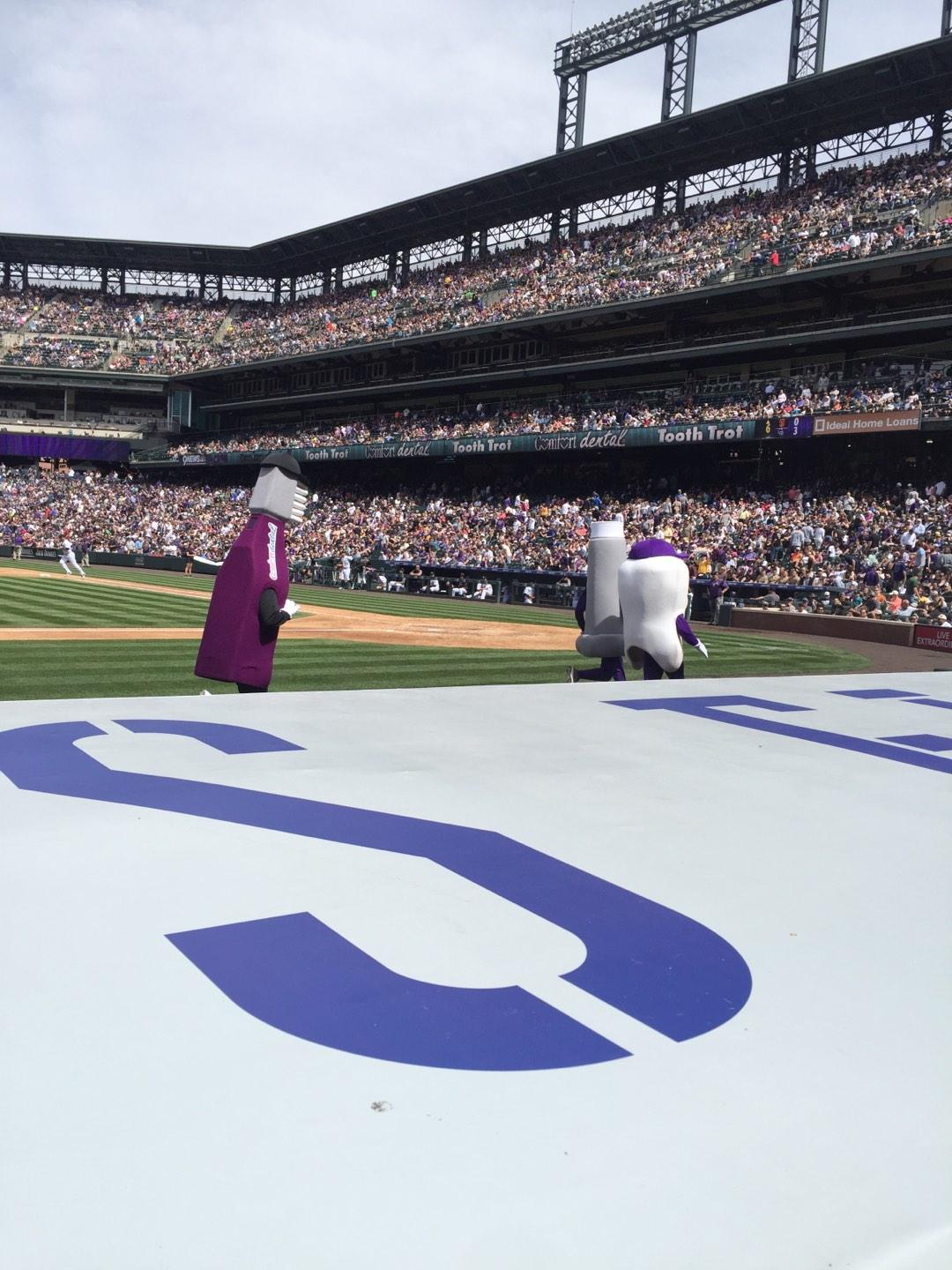 Coors Field Section 137 Row 5 Seat 12