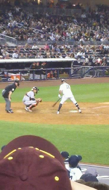 Yankee Stadium Section 116 Row 11 Seat 10
