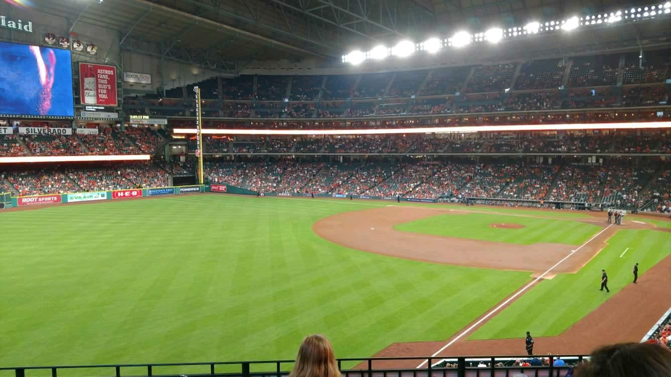 Minute Maid Park Section 205 Row 4 Seat 5