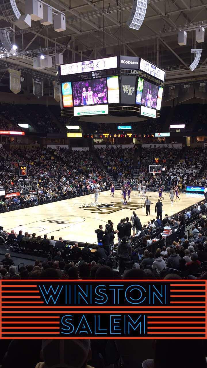 Lawrence Joel Veterans Memorial Coliseum Section 111 Row S Seat 5